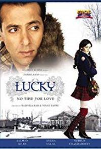 Lucky Romantic Action Salman Movie Poster