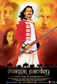 Mangal Pandey Historical Man Movie Poster