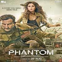 Entry terrorism spy hindi Movie Phantom Poster