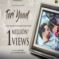 Teri Yaad Single Poster