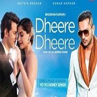 Dheere Dheere Hindi Single Song Poster jpg 2015