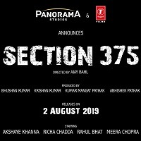 Section 375 Hindi (2019) Audio Mp3 Songs Download Pagalworld