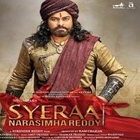 Syeraa Narasimha Reddy Movie title poster