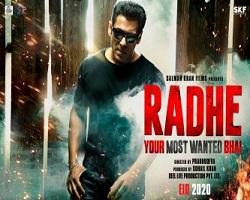Radhe Salman Khan Upcoming Movie Poster